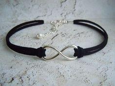 Infinity+Choker+Boho+Choker+Infinity+Necklace+by+BohemienneBelle