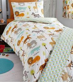 Safari Animals Junior Bedding Set