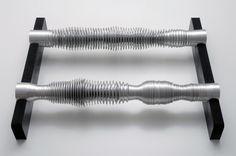 Yes/No by Carsten Nicolai - Everyday Listening - Sound Art, Sound Installations, Sonic Inspiration Sound Sculpture, Sculpture Art, Sculptures, Sound Wave Bracelet, Acoustic Wave, Sound Installation, Make A Joyful Noise, Sound Art, Blink Of An Eye