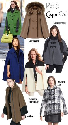 A guide to finding the perfect Fall cape