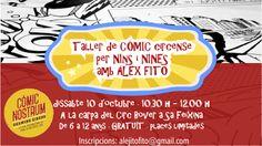 Actividades Infantiles en Comic Nostrum
