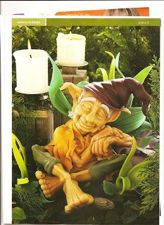 Duende en porcelana fria - step by step tutorial to create this cold porcelain elf, any air dry clay would work too Clay Fairies, Elves And Fairies, Sculpture Clay, Soft Sculpture, Clay Projects, Clay Crafts, Kobold, Fantasy Figures, Dragons