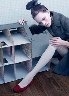 """The Doll House"" Dazed & Confused Korea January 2014"