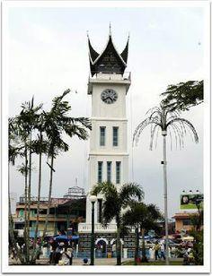 Clock Tower, Padang, Sumatra, Indonesia