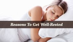 The benefits of getting well-rested have been widely recognized and many of our mood changes or afflictions, may be due to our sleep practices.