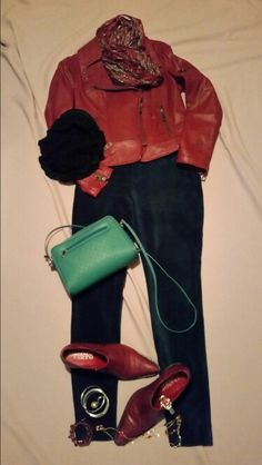 Christmas Eve last minute errands..great in leather, velvet,cashmere...