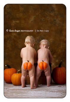 Pumpkin butts... :)