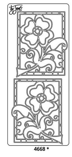 Peel Off Sticker -Poppy Spray Jane - Floral Flower Template Pattern Printable for Coloring Page OR Gel-A-Peel Window Clings Kirigami, Colouring Pages, Coloring Sheets, Coloring Books, Pintura Country, Parchment Craft, Scroll Saw Patterns, Stencil Designs, Digi Stamps