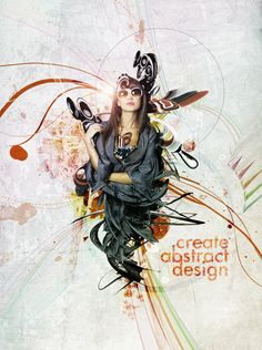Create Abstract Design   weboongo
