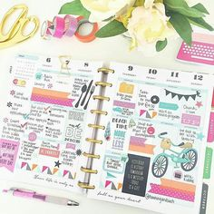 planner inspiration for people who love my happy planner and erin condren! Create 365 Happy Planner, To Do Planner, Cute Planner, Planner Ideas, Planner Writing, Organized Planner, Project Life Planner, Perfect Planner, Planner Journal