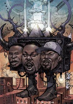 Beat box by Dan Lish doug e. fresh/biz markie/rahzel....  Black Culture, professor-slimmcharles: realrudebwoy: ...
