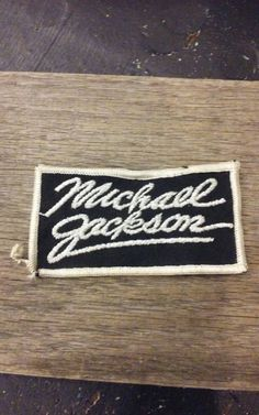 Check out this item in my Etsy shop https://www.etsy.com/listing/462909075/vintage-michael-jackson-iron-on-patch