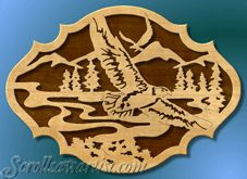 Scroll Saw Patterns :: Birds -