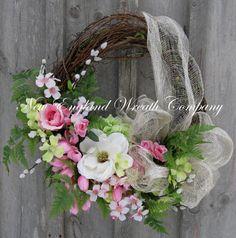 Spring Elegance Wreath by NewEnglandWreath