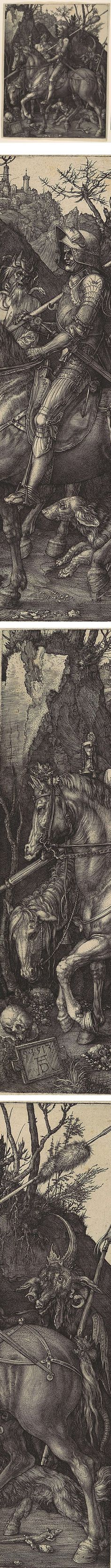 Eye Candy for Today: Durer's Knight, Death and the Devil