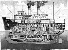 Deck Plans, Boat Plans, Floating Boat Docks, Wooden Speed Boats, Wood Boats, Villas, Nautical Artwork, Boat Drawing, Below Deck