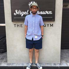 梅雨明けと同時にTシャツ+短パンは卒業|ザ・アーミージムフラッグシップストアー|【公式サイト】ナイジェルケーボン/Nigel Cabourn