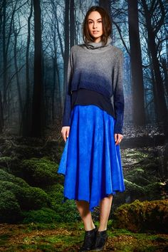 Modest Blue Skirt