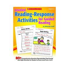 LEVELED READING RESPONSE ACTIVITIES