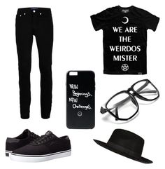 """Untitled #11"" by sappiri34 ❤ liked on Polyvore featuring Lakai, Killstar, Topman, River Island, men's fashion and menswear"