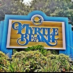 Myrtle Beach! That's where I'll be in 94 days!