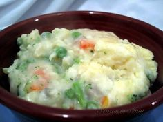 Veggie Shepherd's Pie -nice for a hearty meatless meal