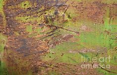 A Fire in the Valley Abstract - photograph by Lee Craig. Fine art prints for sale. #abstractphotography #macro4all #rustedpatina