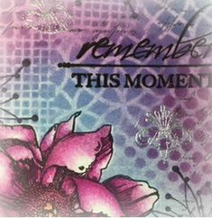 Colourstock: Remember this moment