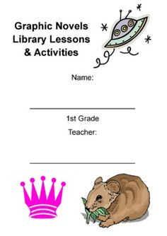 $3 - 1st or 2nd Grade Graphic Novels Study (Activity Booklet & Lesson Plan) - A great unit to do at the end of the year to have a little fun!  Also includes a mini-research activity related to one of the stories.