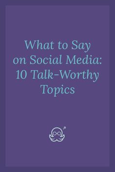 Looking for topics to talk about on social media? Here are 10 time-saving, share-worthy thought starters for your online marketing strategy. - Meet Edgar Blog