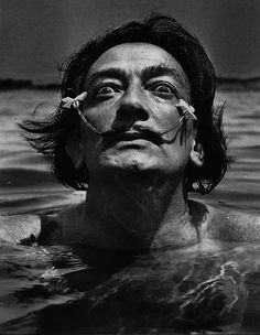 "The one, the only : "" Dali .....Dalí's burgeoning mustaches """