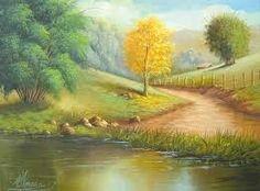 Resultado de imagen para pinterest pintura em tela