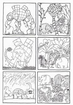 46 Beste Afbeeldingen Van Thema Elmer Allerlei Preschool Short