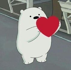 Image about cute in Wholesome memes by Cartoon Wallpaper, Bear Wallpaper, Ice Bear We Bare Bears, We Bear, We Bare Bears Wallpapers, Cute Wallpapers, Bear Meme, Cartoon Profile Pictures, Cute Memes