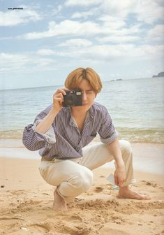 Suho cuts in EXO Present; Moment Photobook❤️ With golden hair, my prince looks so so handsome~! Chanyeol, Kyungsoo, Kim Joon Myeon, Wattpad, Kim Minseok, Xiuchen, Exo Korean, Instyle Magazine, Cosmopolitan Magazine