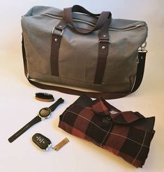 La Marmotte Pailletée sur Instagram: ✈ Envie de voyager.... ✈ Un sac Boston kaki et marrons. Rempli, Boston transportera tout votre nécessaire pour un week-end en…