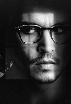 Johnny Depp has always been an attractive fellow, is lucky enough to be typecast as an actor-chameleon, and still embodies the best darn (film) pirate ever. Plus, spectacles.
