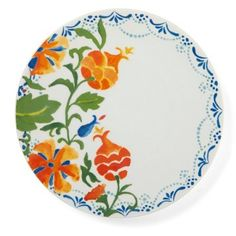 Check out this item at One Kings Lane! S/4 Ceramic Pomegranate Salad Plates