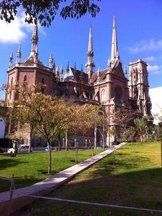 Iglesia del Sagrado Corazón, también conocida como  Iglesia de los padres Capuchinos. Cordoba, Argentina