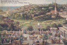 BOURNEMOUTH - PLUMMER RODDIS TEA GARDENS VIEW OF GARDENS 1917 in Collectables, Postcards, Topographical: British | eBay Tea Gardens, Bournemouth, Worlds Largest, Paris Skyline, Postcards, Nostalgia, British, Travel, Ebay
