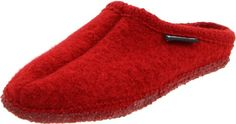 Haflinger Women's Chianti Slipper - Paprika 38 Womens M US Winter Slippers, Cute Slippers, Cotton House, Fashion Slippers, Leather Slippers, Cat Pattern, Shoe Boots, Shoes, Womens Slippers