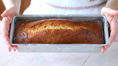 PLUMCAKE YOGURT E BANANA Ricetta Facile - Banana and Yogurt Plumcake Recipe