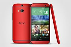 HTC One M8 UK Availability Expands; Now Available in Glamour Red at O2 UK