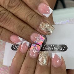 Nail Desighns, Angel Nails, Semi Permanente, Elegant Nails, Toe Nail Designs, Gorgeous Nails, White Nails, Toe Nails, Beauty Nails