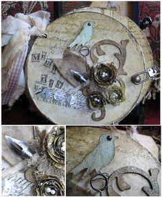 Memories altered cd mini book by ScrappedTreasures, via Flickr