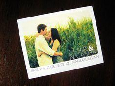 Postcard save the date!