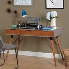 Simple Living Ervin Mid-Century Desk