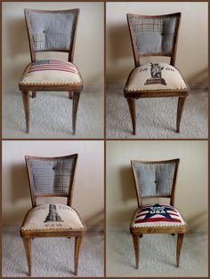 USA design CHAIR set  von ReThink auf DaWanda.com