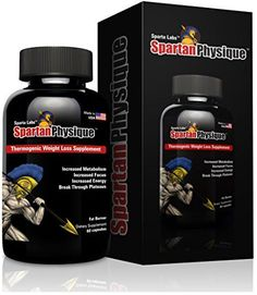 Spartan Physique: Thermogenic Weight Loss Supplements for Men & Women - Best Diet Pills That Work - Fat Burner with Yohimbe, Raspberry Ketones, Theobromine, Phenylethylamine, Camellia Sinensis, And L-Tyrosine to Lose Belly Fat Fast - Increase Energy & Focus - Break Through Plateaus with Carb Blocker Metabolism Booster - The Most Potent Diet Supplement: So Effective You Get Unconditional Money-Back Guarantee - http://www.gsnaab.com/2015/07/19/spartan-physique-thermogen