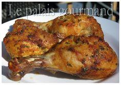 Le palais gourmand: Pilons de poulet marinés à la bière